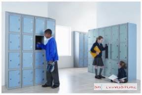 Three Door Trespa Locker