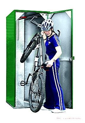 Outdoor Bicycle Locker