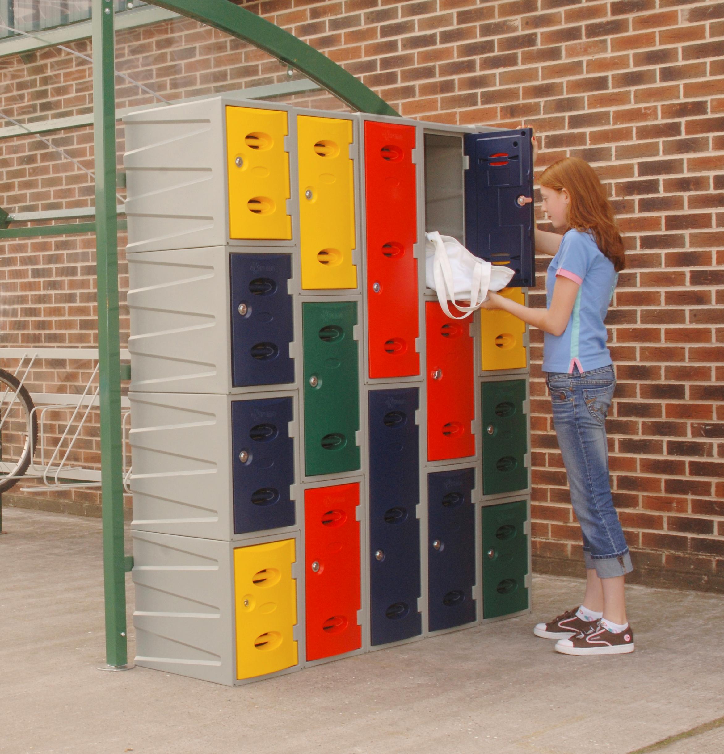 Extreme Plastic Lockers for Schools