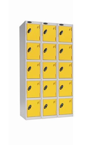 Five Door Locker nest of 3