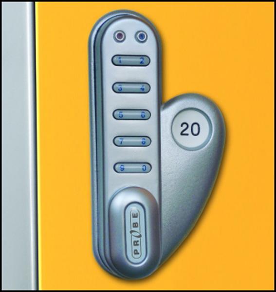 Sixteen Door Locker